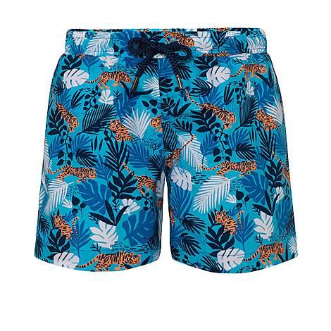 Jungle Tiger Swim Shorts, ${color}