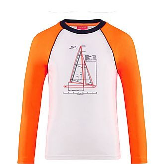 Leonard Boat Rash Guard