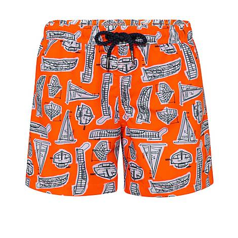 Leonardo Boat Swim Shorts, ${color}