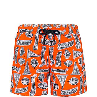 Leonardo Boat Swim Shorts