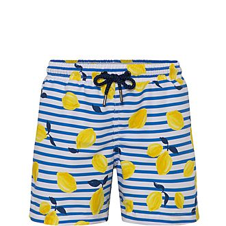 Sicilian Lemon Swim Shorts