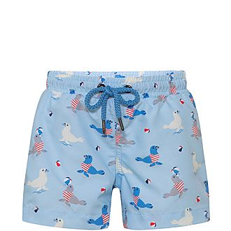 Sailor Seal Swim Shorts Baby