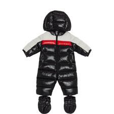 Colour-Block Snowsuit