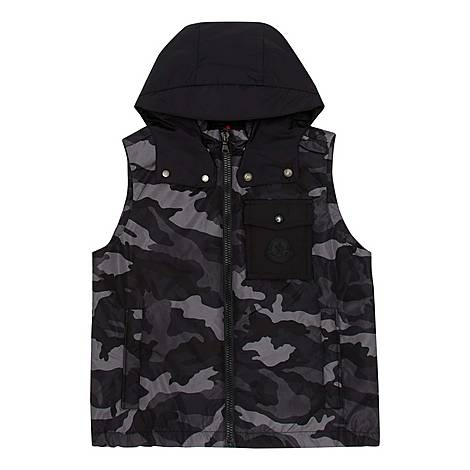 Camouflage Gilet, ${color}