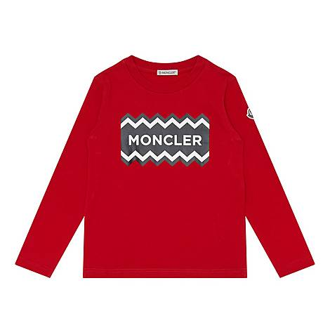 Long Sleeve Logo Graphic T-Shirt, ${color}