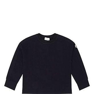 Mesh Back Sweatshirt