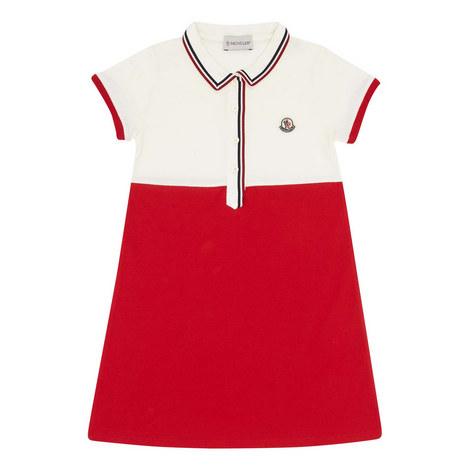 Logo Polo Dress, ${color}