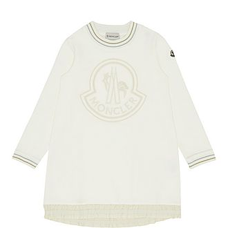 Sweatshirt Logo Dress