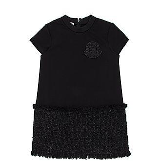 Tweed Skirt T-Shirt Dress