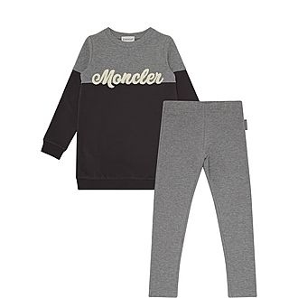 Two-Piece Logo Sweat Set