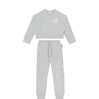Two-Piece Logo Badge Tracksuit