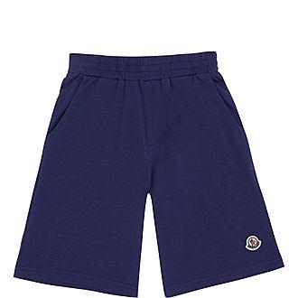 Logo Applique Shorts