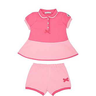 Two-Piece Dress and Shorts Set