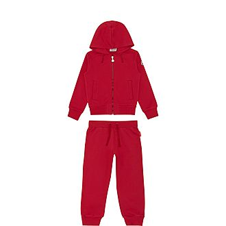 Two-Piece Hooded Tracksuit