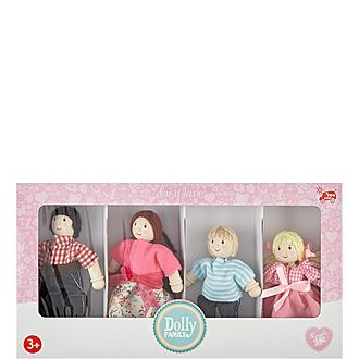 Wooden Dolly Family Toy Set