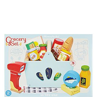 Wooden Grocery Play Set