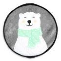 Soft Polar Bear Storage Bag, ${color}