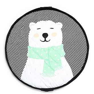 Soft Polar Bear Storage Bag