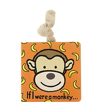 'If I Were A Monkey' Textured Book