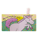 'If I Were A Unicorn' Textured Book, ${color}