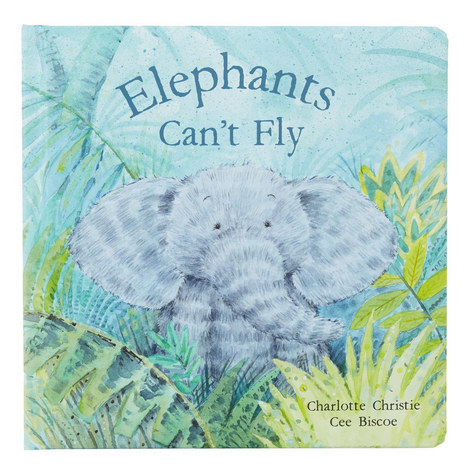 'Elephants Can't Fly' Book, ${color}