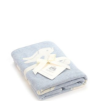 Bashful Bunny Blanket
