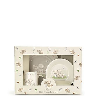 Bunny Ceramic Dinner Set