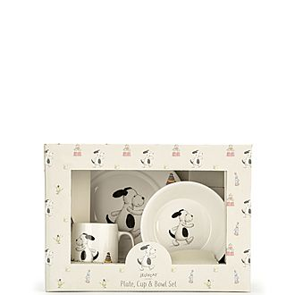Puppy Ceramic Dinner Set