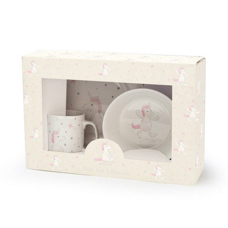 Unicorn Ceramic Dinner Set, ${color}