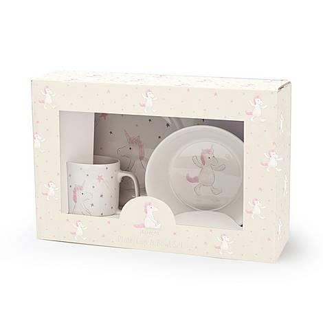 Unicorn Ceramic Dinner Set, ${color}