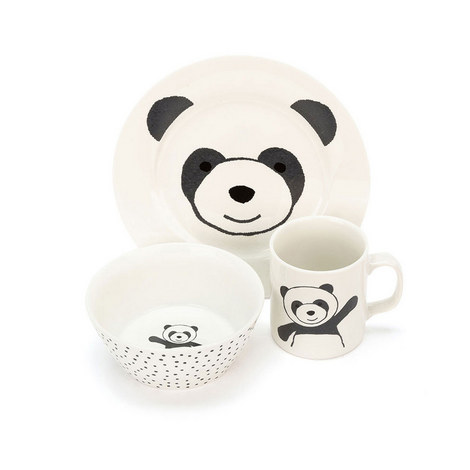 Harry Panda Bowl, Cup & Plate, ${color}