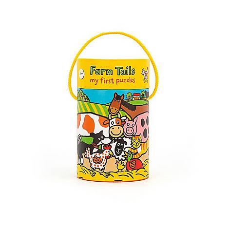 Farm Tails Jigsaw Puzzle, ${color}