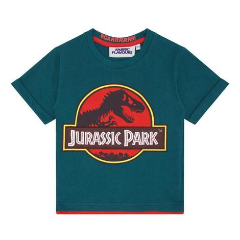 Jurassic Park Logo T-Shirt, ${color}