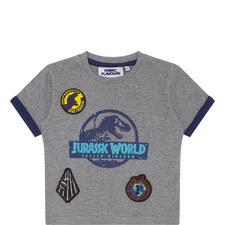 Jurassic Park Motif T-Shirt