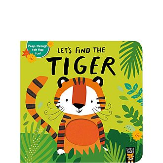'Let's Find the Tiger' Book