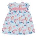 Poppy Balloon Print Dress, ${color}