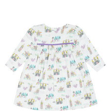 Princess Print Dress