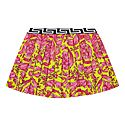 Baroque Pleated Skirt, ${color}