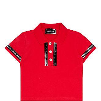 Logo Tape Polo Shirt