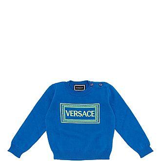 Border Logo Sweater