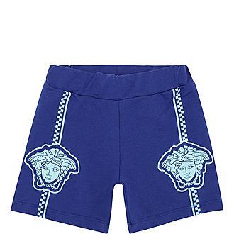 Medusa Stripe Shorts