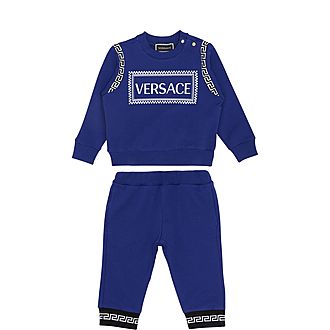 Logo Two-Piece Tracksuit Set
