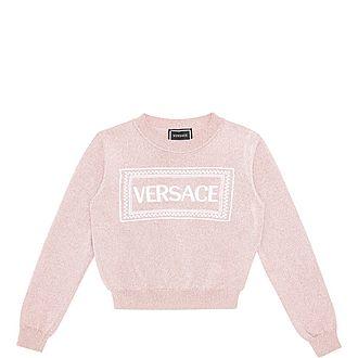 Girls Logo Sweater