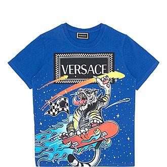Boys Graphic Tiger T-Shirt