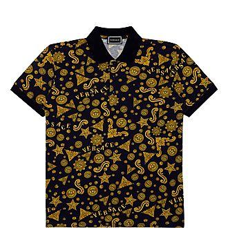 Baracco Print Polo Shirt