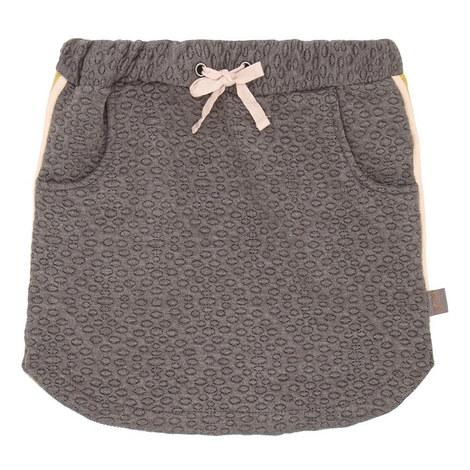Geometric Sweat Skirt, ${color}
