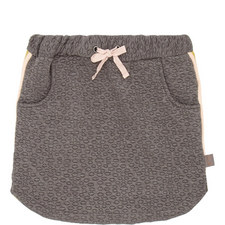 Geometric Sweat Skirt