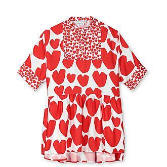 Heart Kimono Dress