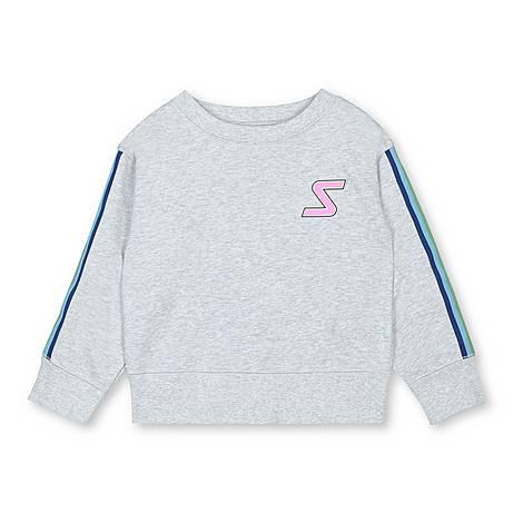 Badge Tape Sweatshirt, ${color}