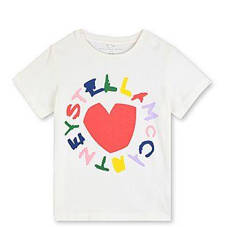 Logo & Heart T-Shirt